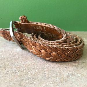 VTG - Braided leather belt